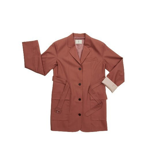 [앤유]WEST VILLAGE blazer dress (Indie pink)