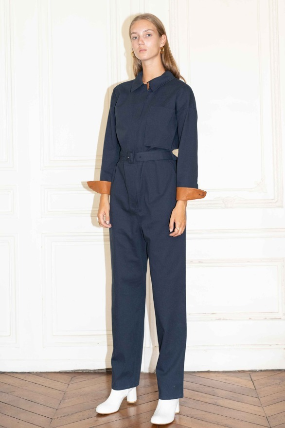SAINT-HONORE jumpsuit (Navy)