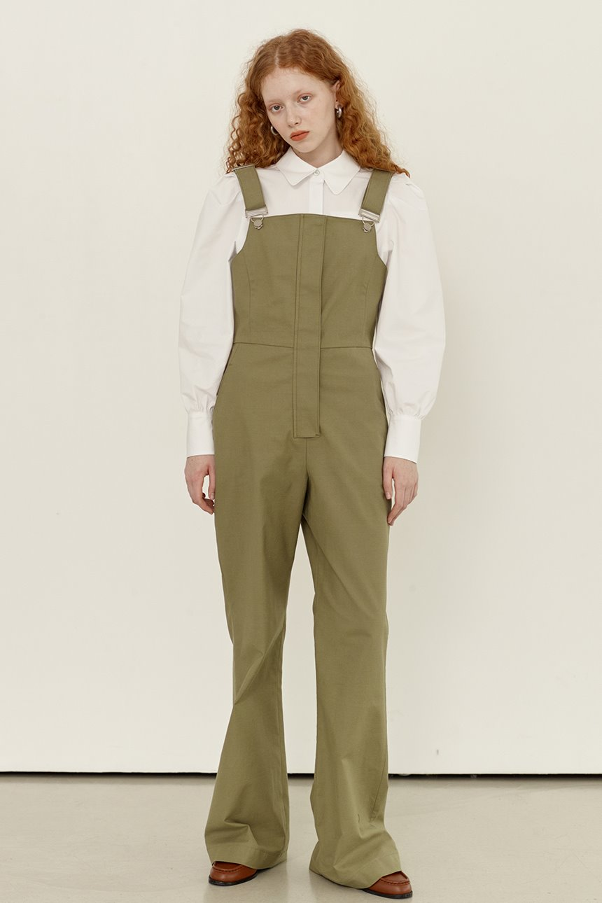 [김나영님 착용]SANBANG Overall (Light khaki)