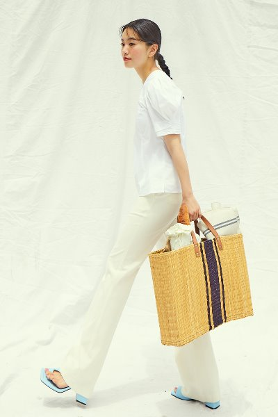 [앤유x이설]TOUR EFFELS trousers (Cream)